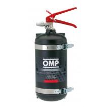 Вогнегасник OMP Ecolife-AFFF 2,4 л, FIA, сталь