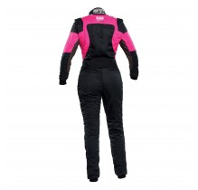 Комбінезон жіночий OMP First Elle для автоспорту (FIA) 2020