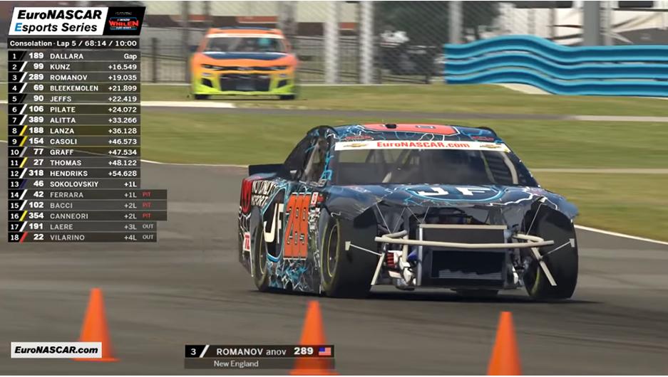 iRacing: Непростой старт украинца в NASCAR